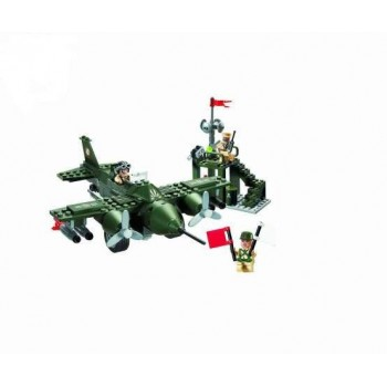 Конструктор BRICK 810 Истребитель, 225 деталей
