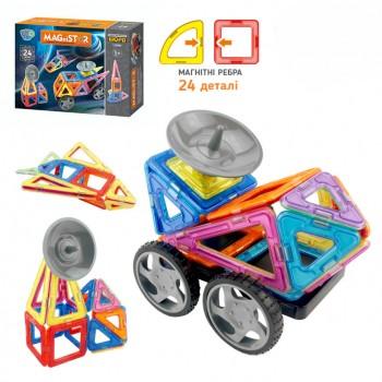 Детский магнитный конструктор LT5004, 24 детали