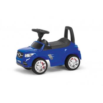 Детская машина-толокар MB  2-001  со спинкой (Синий)