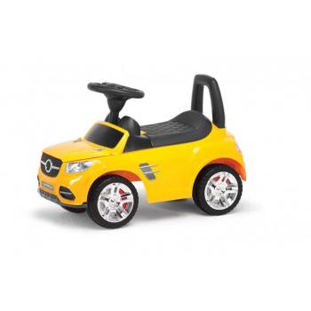 Детская машина-толокар MB  2-001  со спинкой (Желтый)