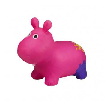 Детский прыгун Бегемот G20153 резиновый  (Pink)