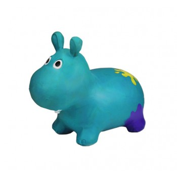Детский прыгун Бегемот G20153 резиновый  (Turquoise)