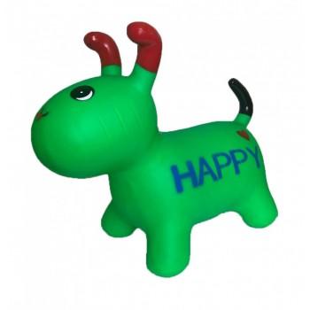 Детская  игрушка прыгун собака BT-RJ-0072 резиновый (Green)