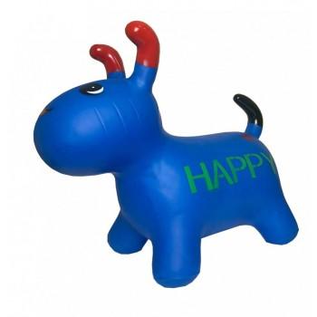 Детская  игрушка прыгун собака BT-RJ-0072 резиновый (Blue)