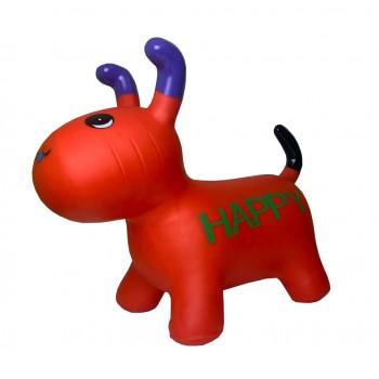 Детская  игрушка прыгун собака BT-RJ-0072 резиновый (Red)