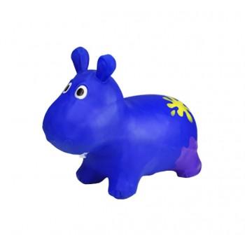 Детский прыгун Бегемот G20153 резиновый  (Blue)