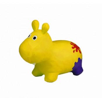 Детский прыгун Бегемот G20153 резиновый  (Yellow)