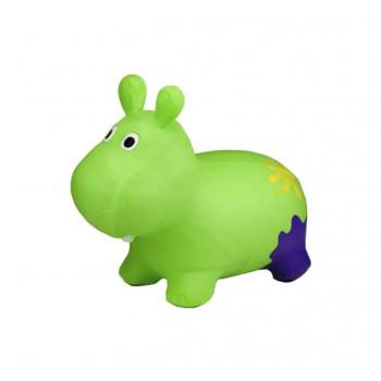 Детский прыгун Бегемот G20153 резиновый  (Green)