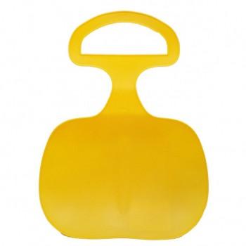 Санки-ледянка 155811/14,  43 см (Желтый)