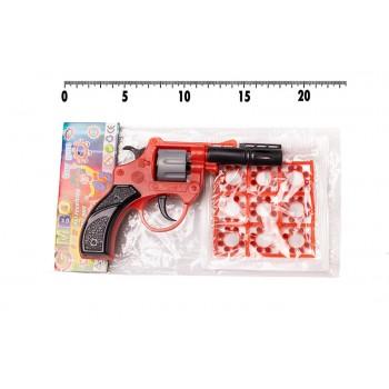 Игрушечный револьвер с пистонами Golden Gun 118GG