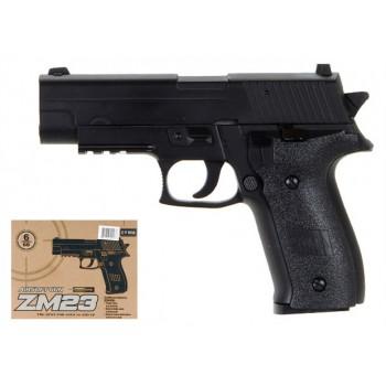 Детский пистолет на пульках CYMA ZM23 металлический корпус