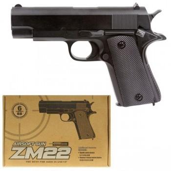 Детский пистолет ZM22 металлический
