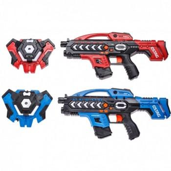 Набор лазерного оружия Canhui Toys Laser Guns CSTAG (2 пистолета + 2 жилета) BB8903F