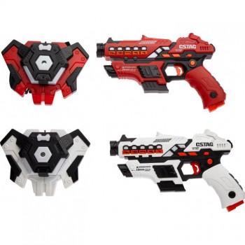 Набор лазерного оружия Canhui Toys Laser Guns CSTAG (2 пистолета + 2 жилета) BB8913F