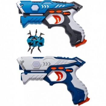 Набор лазерного оружия Canhui Toys Laser Guns CSTAR-23 (2 пистолета + жук) BB8823G