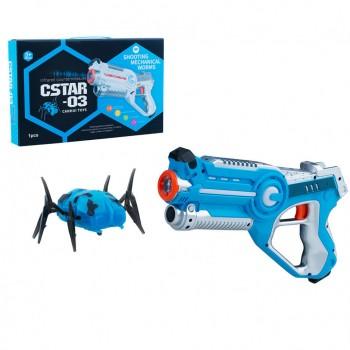 Пистолет лазерный Canhui Toys Laser Gun CSTAR-03 с жуком BB8803B