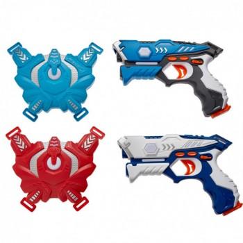 Набор лазерного оружия Canhui Toys Laser Guns CSTAR-23 (2 пистолета + 2 жилета) BB8823F
