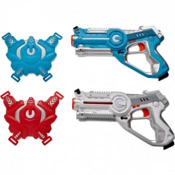 Набор лазерного оружия Canhui Toys Laser Guns CSTAR-03 (2 пистолета + 2 жилета) BB8803F