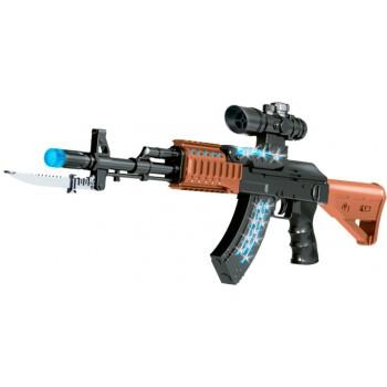Автомат свето-звуковой 827 AK47