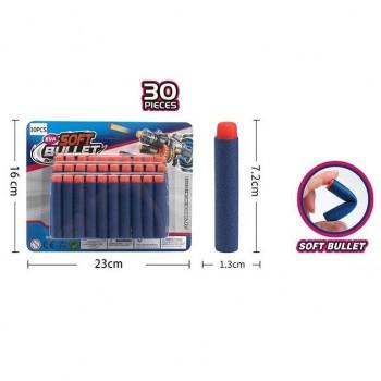 Детские мягкие пули XL 166P 30 штук
