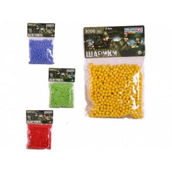 Пульки для игрушечного оружия 1-152, 1000 шт