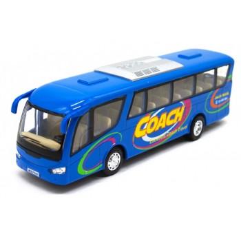 Детский игровой Автобус KS7101 открываются двери (Синий )