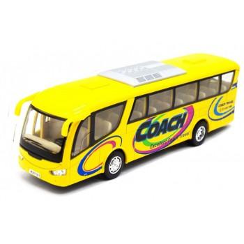 Детский игровой Автобус KS7101 открываются двери (Желтый)