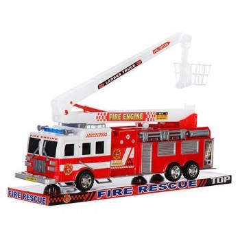 Детская пожарная машина со стрелой SH-8855 инерционная