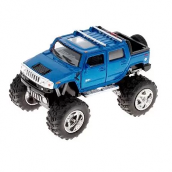 Детская коллекционная машинка HUMMER KT5326W инерционная (Синий)