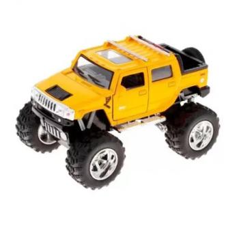 Детская коллекционная машинка HUMMER KT5326W инерционная (Желтый)