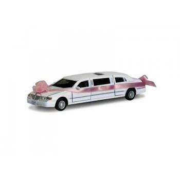 Детская коллекционная машинка свадебный лимузин КТ7001WW инерционный