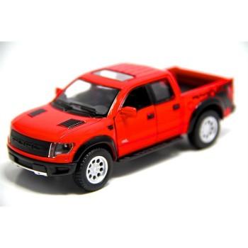 Детская коллекционная машинка FORD F-150 КТ5365 инерционная  (Красный)