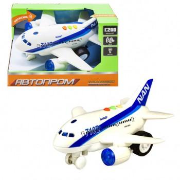 Игрушечный самолет 7912AB со звуковыми эффектами  (1-этажный)