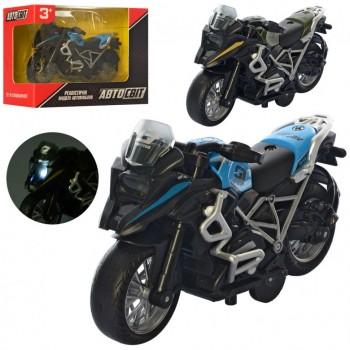 Игрушечный мотоцикл AS-2641 инерционный