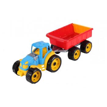 Детский трактор с прицепом 3442TXK, 2 цвета (Разноцветный)