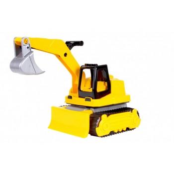 Игрушечный Трактор 6276TXK с подвижными деталями (Желтый)