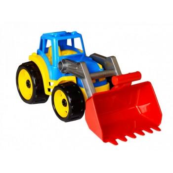 Детский игрушечный большой трактор 1721TXK с подвижными деталями (Разноцветный)
