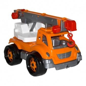 Детская машина Автокран 4562TXK, 3 цвета (Оранжевый)
