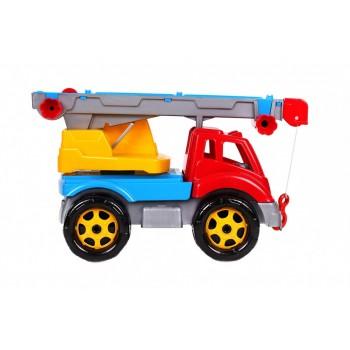 Детская машина Автокран 4562TXK, 3 цвета (Разноцветный)
