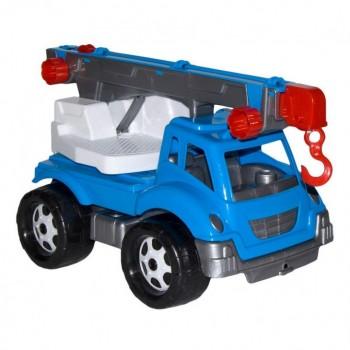 Детская машина Автокран 4562TXK, 3 цвета (Голубой)