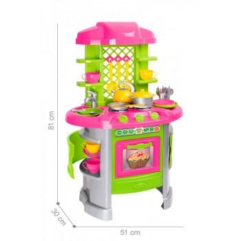Детская игровая кухня 8 0915TXK с посудой