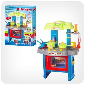 Детский игровой набор Кухня 008-26А с плитой