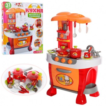 Детский игровой набор Кухня 008-801A с духовкой и аксессуарами