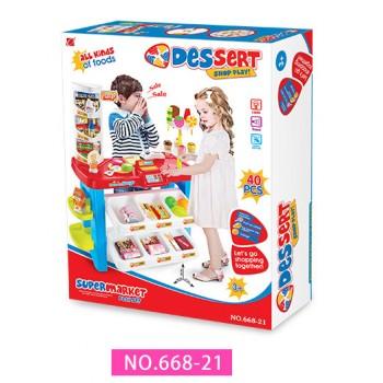 Детский игровой магазин 668-21 с продуктами