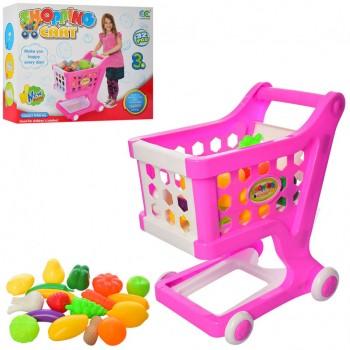Детский игровой набор Магазин 856-1B тележка с продуктами