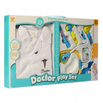 Детский игровой набор доктора 9901-16 в сумочке (Белый)