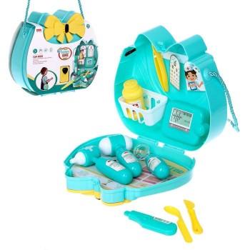 Детский игровой набор доктора 12L08 в сумочке