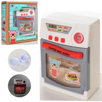 Игровая плита для кукол с духовкой  8215 посуда в наборе