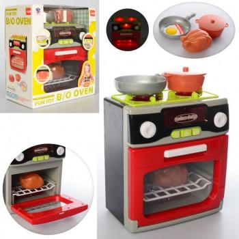 Детский игровой набор бытовой техники XS-14067 с посудой