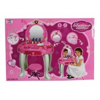 Салон красоты игрушечный 008-18 со стульчиком